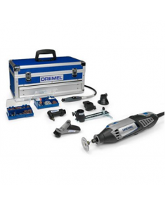 Dremel 4000 Series High Performance Platinum Edition Rotary Tool Kit with 128 Accessories