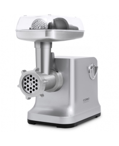 Caso Meat Grinder FW2000 Silver, Number of speeds 2, Accessory for butter cookies; Drip tray