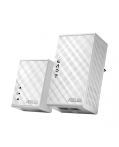 Asus Powerline (2pcs Kit) PL-N12 10/100 Mbit/s, Ethernet LAN (RJ-45) ports 2, 802.11n, 300 Mbit/s, 500 Mbit/s