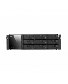 Asus Asustor Rack NAS AS7009RD up to 9 HDD/SSD, Intel Core Dual-Core, i3, Processor frequency 3.5 GHz, 4 GB, DDR3, Black