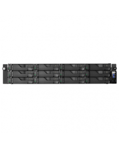 Asus Asustor Rack NAS AS7012RDX up to 12 HDD/SSD, Intel Xeon Quard-Core, E3-1245v3, Processor frequency 3.4 GHz, 4 GB, DDR3, Black