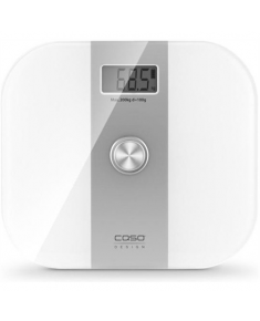 Caso Body Solar Scales, Weight: max 150 kg, Large digital display, Auto off, Foot sensor Caso Body Energy Scales 03415 Maximum weight (capacity) 200 kg, Accuracy 100 g, White/ grey