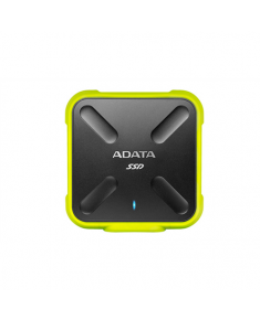 ADATA External SSD SD700 256 GB, USB 3.1, Black/Yellow