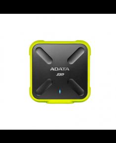 ADATA Externall SSD SD700 512 GB, USB 3.1, Black/Yellow