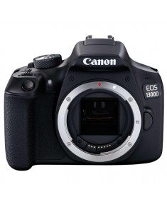 "Canon EOS 1300D (W) BALTIC SLR Camera Body, Megapixel 18 MP, ISO 6400, Display diagonal 3 "", Wi-Fi, Video recording, TTL, CMOS, Black"
