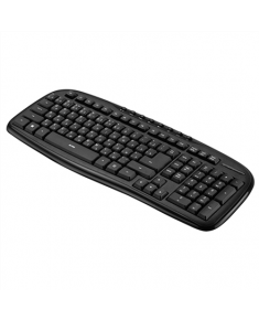 Acme KM10 Wired keyboard, USB, Keyboard layout EN/LT/RU, Black, 610 g, USB,