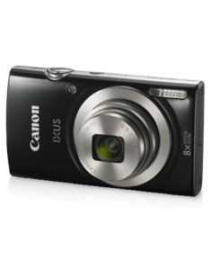 "Canon IXUS 185 Compact camera, 20 MP, Optical zoom 8 x, Digital zoom 4 x, Image stabilizer, ISO 800, Display diagonal 2.7 "", Focus TTL, Video recording, Lithium-Ion (Li-Ion), Black"