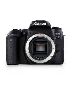 "Canon EOS 77D SLR Camera Body, Megapixel 24.2 MP, Image stabilizer, ISO 25600, Display diagonal 3.0 "", Wi-Fi, Video recording, TTL, CMOS, Black"