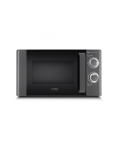 Caso Microwave oven 3307 M20 Ecostyle 20 L, Rotary, 700 W, Black, Defrost function, Free standing