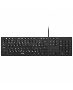 Acme Keyboard Right Now KS07 Slim, Wired, Keyboard layout LT/EN/RU, USB, Black, No, Wireless connection No, LT/EN/RU, Numeric keypad