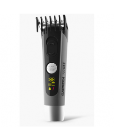 Carrera No. 622 Hair clipper + 526 Universal Charging Station Cordless, Number of length steps 4, Grey/Black