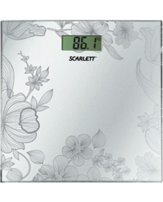Scarlett Bathroom scale SC-215 Maximum weight (capacity) 180 kg, Accuracy 100 g, Multiple user(s), Silver