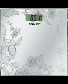 Scarlett Bathroom scale SC-215 Maximum weight (capacity) 180 kg, Accuracy 100 g, Multiple user(s), Silver