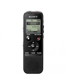 Sony Digital Voice Recorder ICD-PX470 Black, Stereo, MP3/L-PCM, 59 Hrs 35 min, MP3 playback