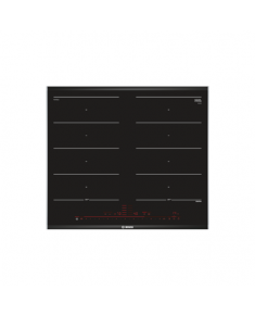 Bosch Hob PXX675DC1E Induction, Number of burners/cooking zones 4, Black, Display, Timer