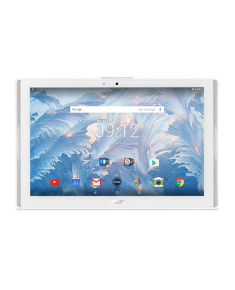 "Acer Iconia One 10 B3-A40 10.1 "", White, IPS TFT, 1280x800 pixels, MediaTek Quad-core, MT8167A, 2 GB, DDR3L SDRAM, 16 GB, Wi-Fi, Front camera, 2 MP, Rear camera, 5 MP, Bluetooth, 4.1, Android, 7.0"