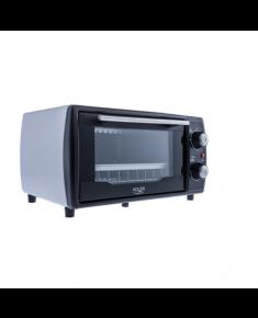 Adler Mini oven AD 6003 9 L, With grill, Black/ Silver, 1000 W