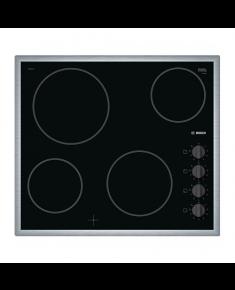 Bosch Hob PKE645CA1E Vitroceramic, Number of burners/cooking zones 4, Black,