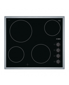 Bosch Hob PKE645CA1E Vitroceramic, Number of burners/cooking zones 4, Black,