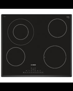 Bosch Hob PKF651FP1E Vitroceramic, Number of burners/cooking zones 4, Black, Display, Timer