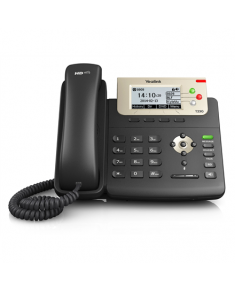 Yealink SIP-T23G IP Phone, 132x64-pixel graphical LCD with backlight, 3 SIP accounts