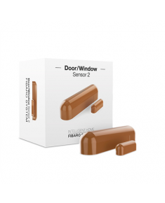Fibaro Door/Window Sensor 2 Z-Wave, Brown