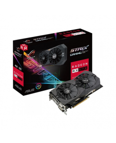 Asus AMD, 4 GB, Radeon RX 570, GDDR5, PCI Express 3.0, Processor frequency 1254 MHz, DVI-D ports quantity 1, HDMI ports quantity 1, Memory clock speed 7000 MHz