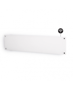 Mill Heater AV800LWIFI Glass WiFi Panel Heater, 800 W, Number of power levels 1, Suitable for rooms up to 10-14 m², White