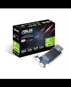 Asus NVIDIA, 2 GB, GeForce GT 710, GDDR5, PCI Express 2.0, Cooling type Passive, HDMI ports quantity 1, Memory clock speed 5012 MHz, DVI-D ports quantity 1, VGA (D-Sub) ports quantity 1, Processor frequency 954 MHz