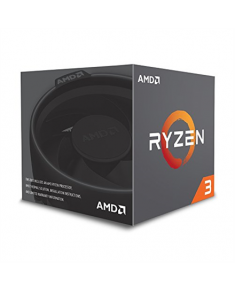 AMD Ryzen 3 1200, 3.4 GHz, AM4, Processor threads 4, Packing Retail, Cooler included, Processor cores 4, Component for PC