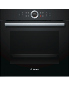 Bosch Oven HBG632BB1S Multifunctional, 71 L, Black, activeClean, Rotary switch, Height 59.5 cm, Width 59.5 cm, Integrated timer, Built-in, A+