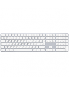 Apple Magic Keyboard with Numeric Keypad Wireless, Keyboard layout English, Russian