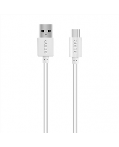 Acme CB1041W cable USB, Type-C, 1 m, White