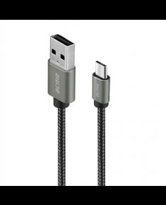Acme CB2011G Micro USB, USB A, 1 m, Grey