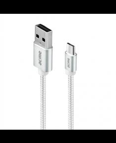 Acme CB2011S Micro USB, USB A, 1 m, Silver