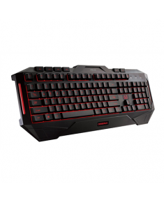 Asus CERBERUS 90YH00R1-B2UA00 Gaming keyboard, Wired, Keyboard layout US, Black, Multi-color fully backlighting, Wireless connection No, EN, Numeric keypad, 1100 g