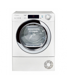 Candy Dryer Mashine GVS H9A2TCE-S Condensed, Heat pump, 9 kg, Energy efficiency class A++, White, Depth 59.5 cm, Display, LED