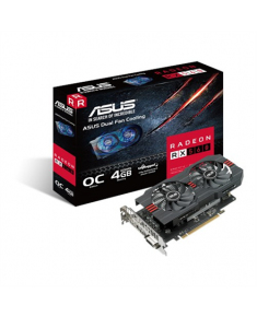 Asus AMD, 4 GB, Radeon RX 560, GDDR5, Processor frequency 1197 MHz, DVI-D ports quantity 1, HDMI ports quantity 1, PCI Express 3.0, Memory clock speed 6000 MHz