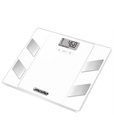 Mesko Bathroom scales   MS 8148  Maximum weight (capacity) 150 kg, Accuracy 100 g, Multiple user(s), White