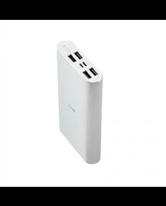Acme PB16S Power bank (Lightning and micro USB) 15000 mAh, Silver, 4 USB ports