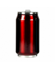 Yoko Design 1296-7674R  Isotherm tin can, Shiny Red, Capacity 0.5 L