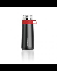 Yoko Design 1488/7938A  Isotherm ThermoMug, Black/ Red, Capacity 0.35 L,