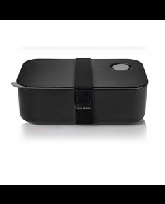 Yoko Design 1386-7850B Lunch Box, Black, Capacity 1 L, Yes
