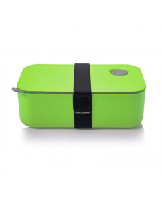 Yoko Design 1386-7850D Lunch Box, Green, Capacity 1 L, Bisphenol A (BPA) free