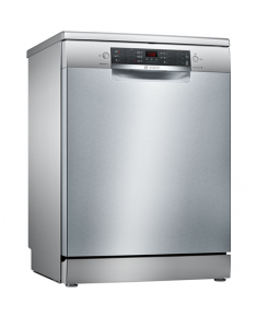 Bosch Dishwasher SMS46KI01E Free standing, Width 60 cm, Number of place settings 13, Number of programs 6, A++, AquaStop function, Silver
