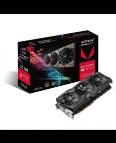Asus AMD, 8 GB, Radeon RX VEGA 56, HBM2, PCI Express 3.0, Processor frequency 1297 MHz, DVI-D ports quantity 1, HDMI ports quantity 2, Memory clock speed 800 MHz