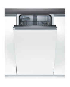 Bosch Dishwasher SPV25CX01E Built in, Width 45 cm, Number of place settings 9, Number of programs 5, A+, AquaStop function, White