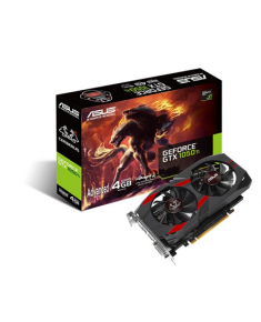 Asus Cerberus Advanced Edition NVIDIA, 4 GB, GeForce GTX 1050 Ti, GDDR5, PCI Express 3.0, Processor frequency 1328 MHz, DVI-D ports quantity 1, HDMI ports quantity 1, Memory clock speed 7008 MHz