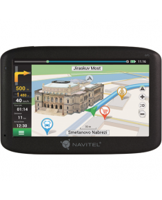 "Navitel Personal Navigation Device MS400 Maps included, GPS (satellite), 5"" touchscreen,"