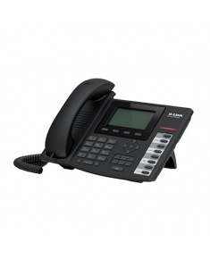 D-Link DPH-400GE VoIP Phone with PoE, 5 SIP accounts